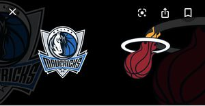 Miami Heat v Dallas Mavericks for Sale in Hollywood, FL