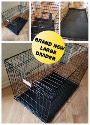 Large Dog Crate New with Divider for Sale in Hillsborough, NC