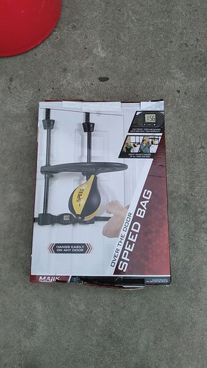 Fitness speed bag for Sale in Fresno, CA
