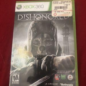 Dishonored Xbox 360 for Sale in Pompano Beach, FL