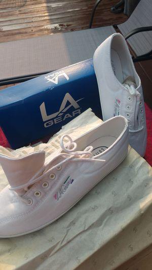 Tennis shoes LA care brand new for Sale in Renton, WA