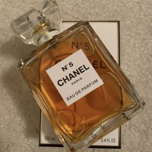 Large 100mL Bottle Authentic W/box CHANEL Perfume No. 5 for Sale in Fort Myers, FL
