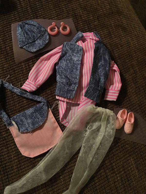 VTG Barbie 80's outfit