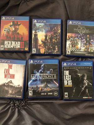 PS4 and Xbox One Games for Sale in Las Vegas, NV