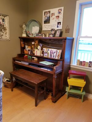 Vintage piano, turned to a desk for Sale in Pierz, MN
