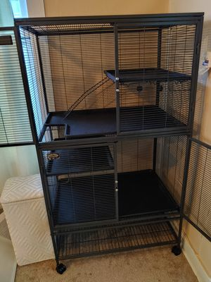 Double Critter Nation - Rat/Bird Cage for Sale in Everett, WA