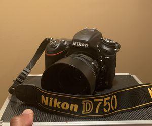 Nikon D750 for Sale in Atlanta, GA