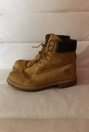 Timberland work boots (used) looking for new home for Sale in Hampton, VA