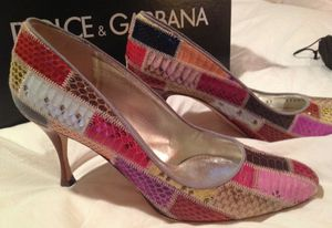 7 NEW Dolce Gabanna Snakeskin Heels Pumps Sexy for Sale in Fort Worth, TX