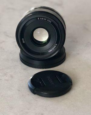 Sony e 35mm f/1.8 for Sale in Sumner, WA
