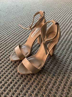 Women's 6M Steve Madden Nude Dress Heels - ONLY WORN ONCE! for Sale in Denver, CO