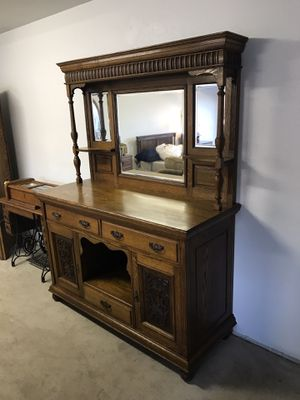Antique Sideboard Buffet for Sale in Long Beach, CA