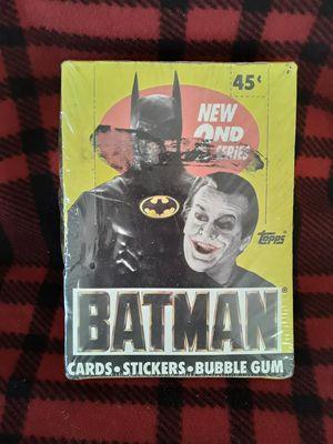 1989..Topps 2nd Series..Batman.. for Sale in Largo, FL