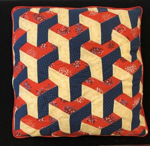 3D quilted pillow cover for Sale in Beaverton, OR