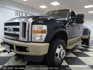 2008 Ford F-350 SD Lariat KING RANCH 4x4 Crew Cab Diesel DUALLY for Sale in Paterson, NJ