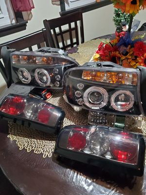 2000 to 2004 dodge dakota Halo headlights and taillights for Sale in Woonsocket, RI