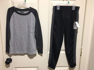 2pcs Kids Boys Clothes Long Sleeve Tops+Athletic Pants Outfit Set-New With Tag- for Sale in Philadelphia, PA