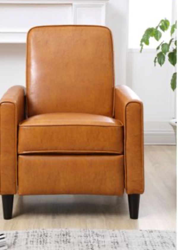 New Recliner Reclinnig Chair Push Back Faux Leather Recliner Recliner Chair Relaxing Chair
