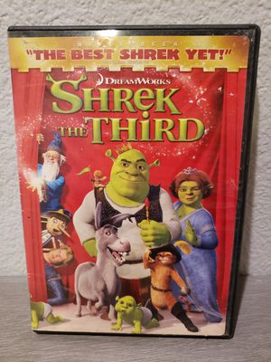 Shrek The Third DVD for Sale in Moreno Valley, CA