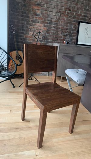 Wood chair for Sale in New York, NY