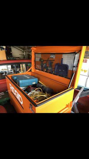 Ridgid tool box for Sale in Vacaville, CA