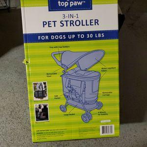 Top Paw Pet Stroller for Sale in Riverside, CA