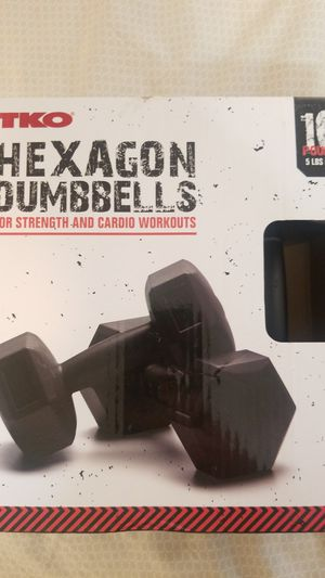 Hexagon dumbbells for Sale in Tucson, AZ