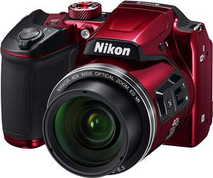 Nikon COOLPIX B500 Digital Camera (Red) with 64GB memory card for Sale in Buffalo Grove, IL