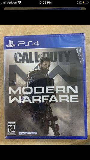 Call of duty modern warfare cod mw PS4 for Sale in Banning, CA