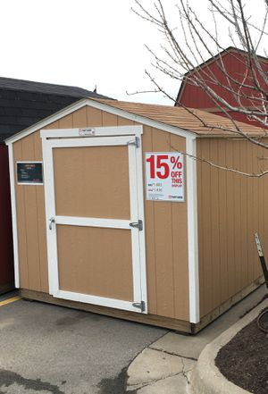 15% off of this Tuff Shed KR 600 8x8 storage shed for Sale in Wichita, KS