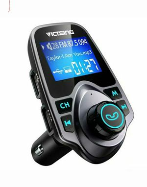 Bluetooth In-Car Wireless FM Transmitter MP3 Radio Adapter Car Kit 2 USB Charger for Sale in Los Angeles, CA