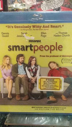 Smart people Blu-ray comedy brand new factory sealed rated R for Sale in Yakima,  WA