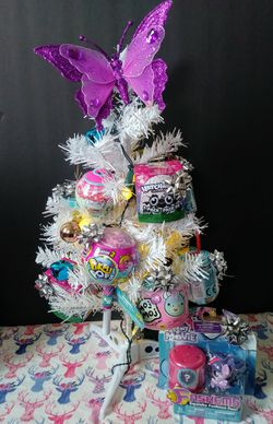 Blind bag surprise toy Christmas tree for Sale in Norwich,  CT