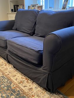 PB Comfort Roll Arm Slip covered Sofa for Sale in Darien,  CT