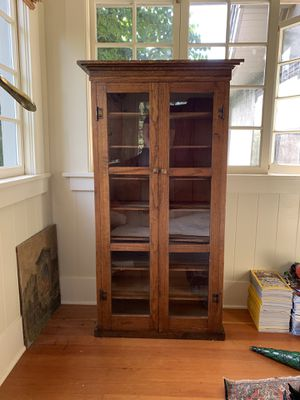 Antique Oak Cabinet for Sale in Portland, OR