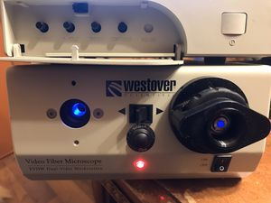 Westover video fiber microscope FVDW Dual Video Workstations Looks like new, work well. for Sale in Federal Way, WA