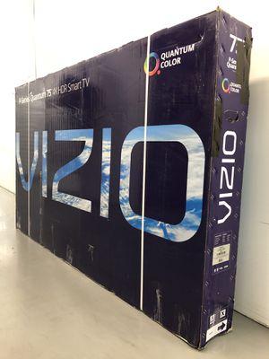 VIZIO 75 INCH QUANTUM 4K P SERIES SMART TV! 3 month guarantee. SUPER HIGH END! Crazy special, $1500+tax retail! for Sale in Phoenix, AZ