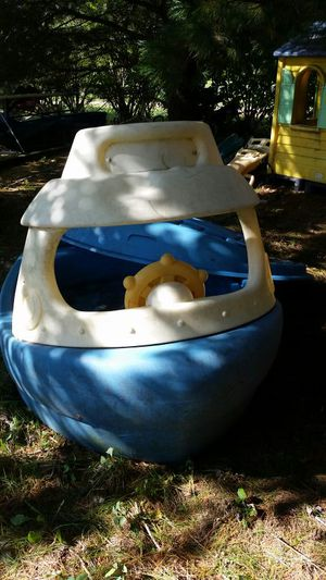 Little tikes tug boat sand box pool for Sale in Washington, DC