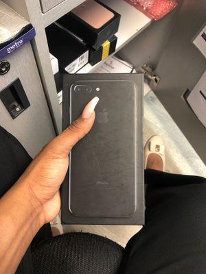 New unlock iPhone 7 Plus black 128 gb for Sale in Providence, RI