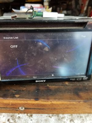 Sony touch screen radio for Sale in San Antonio, TX