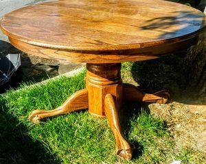 Solid oak breakfast table for Sale in San Jose, CA
