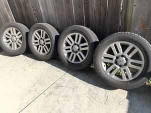 """Toyota OEM 20"""" Wheels with A/T Tires for Sale in Foster City, CA"""