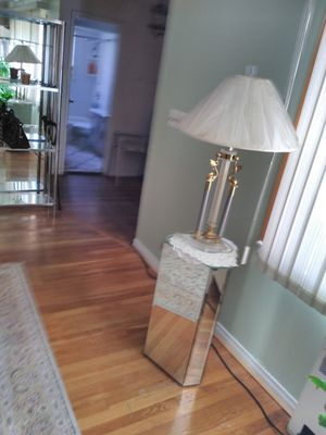 Two end tables and two lamps for Sale in Floral Park, NY