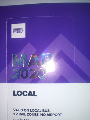 March bus pass for Sale in Denver, CO