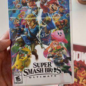 Nintendo Switch Game Super Smash Bros In Original Box for Sale in Miami, FL