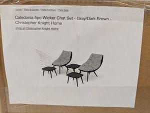 5pc patio furniture set for Sale in San Antonio, TX