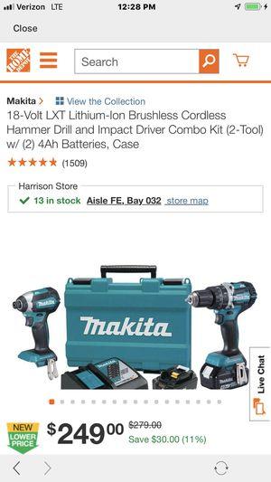 Makita drill and impact set for Sale in Cincinnati, OH