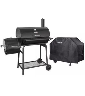 "🔥Brand new! 30"" BBQ Charcoal Grill Offset Smoker with Cover Work Space for Sale in Logan, UT"
