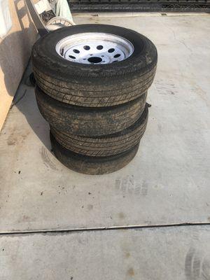 4 Trailer tires for Sale in Dinuba, CA