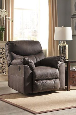 NEW Breville Ashley charcoal brown recliner for Sale in Sudley Springs, VA